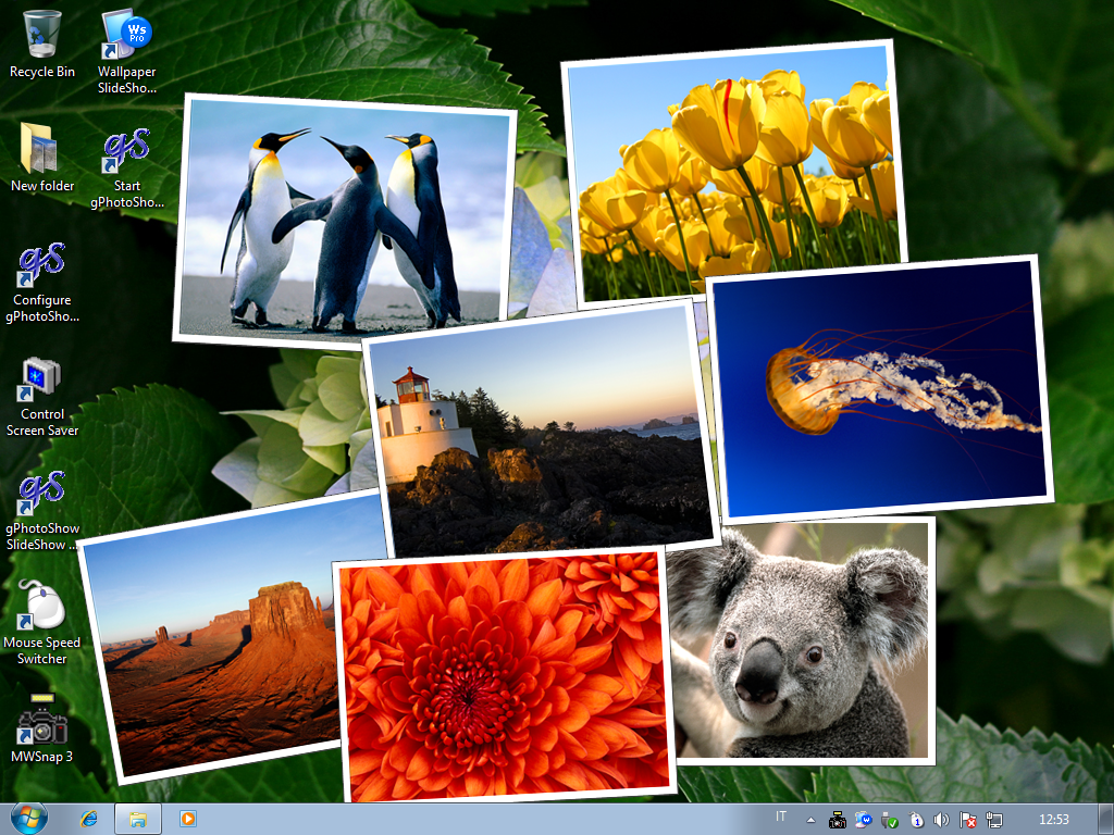 automatic desktop wallpaper changer - wallpaper slideshow pro